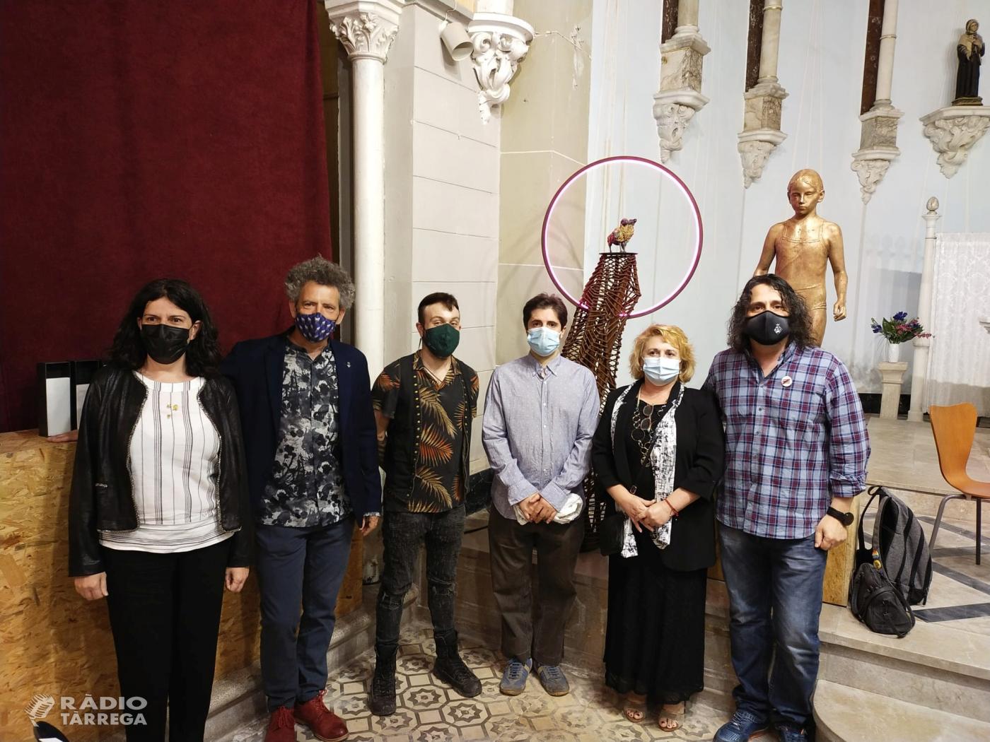 Lliurament al convent de Sant Bartomeu del premi de Belles Arts Sant Jordi 2021
