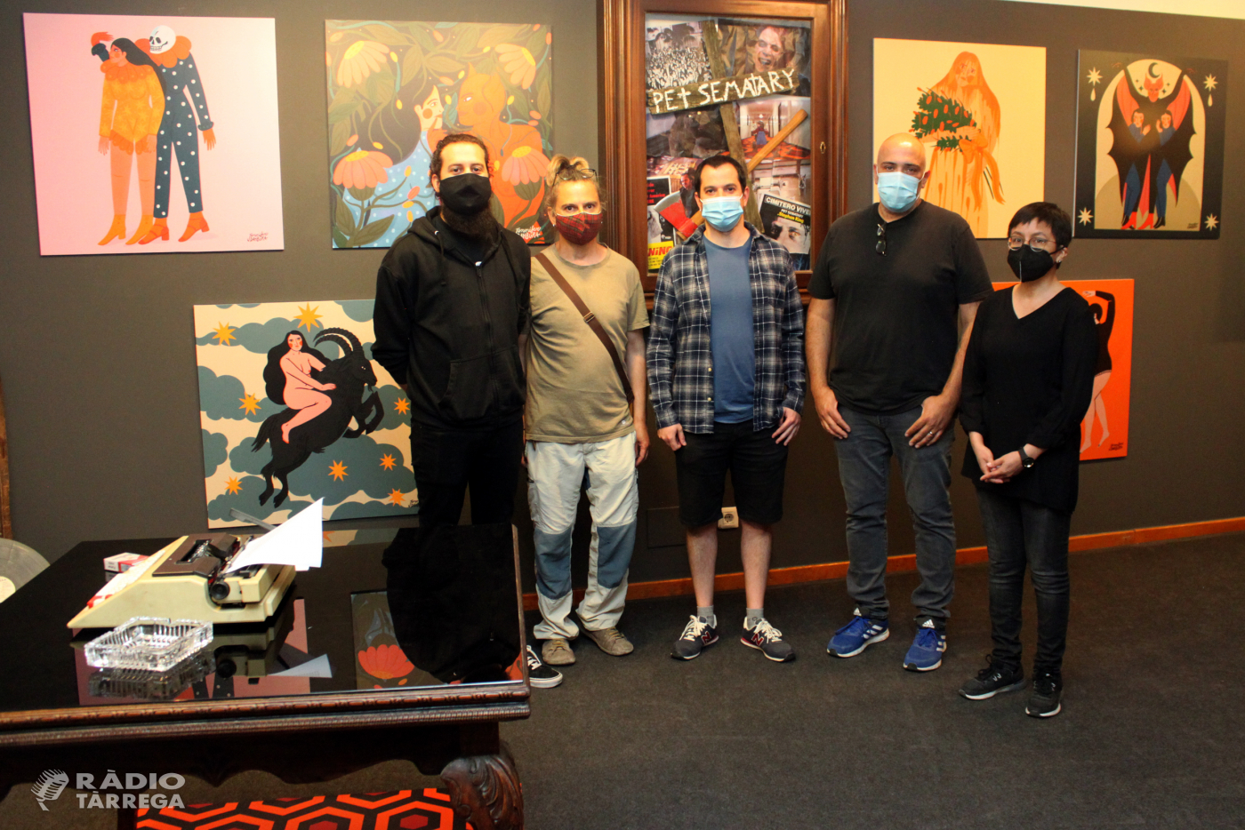 El Museu Tàrrega Urgell acull fins al 31 de juliol una exposició de l'artista plàstica Jennifer Dahbura inspirada en l'univers d'Stephen King