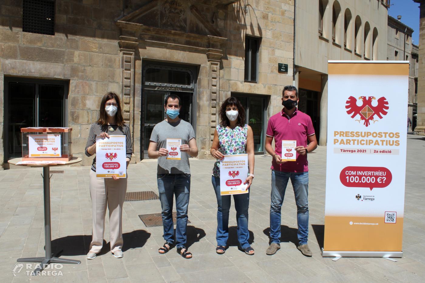 L'Ajuntament de Tàrrega impulsa la segona edició dels seus pressupostos participatius