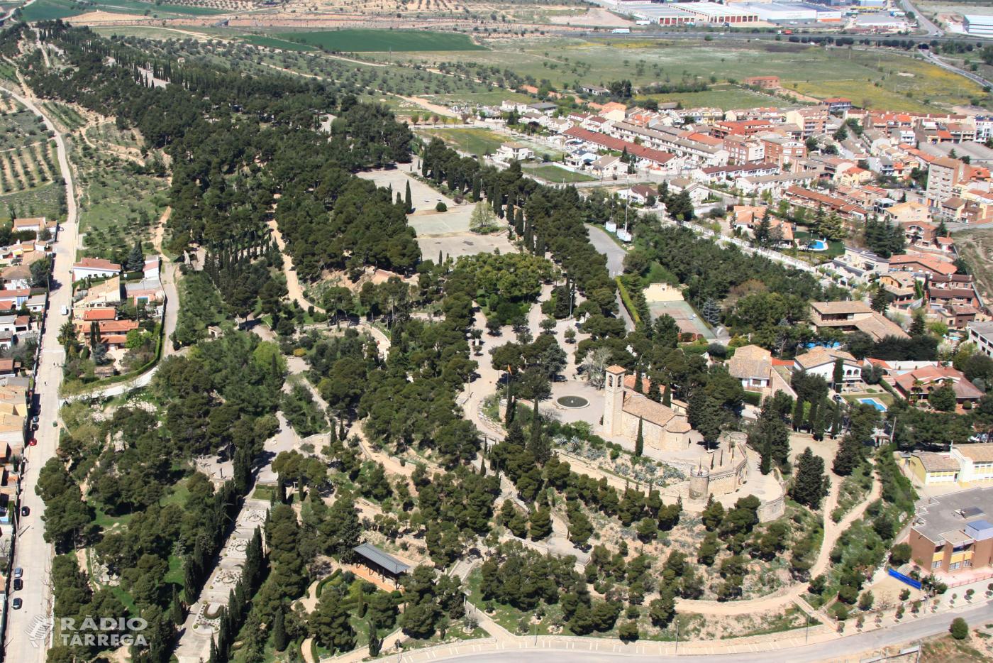 L'Associació Amics de l'Arbre, entitat que gestiona el parc de Sant Eloi de Tàrrega, començarà les obres de la nova plaça dedicada a Gonçal Crespo a partir del 15 de setembre