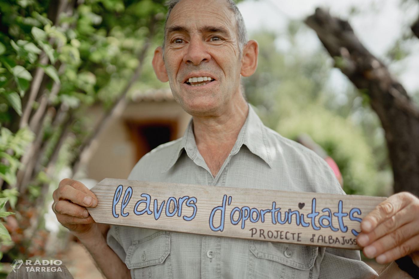 Alba Jussà inicia un crowdfunding per finançar un hivernacle pel seu projecte d'agricultura social Llavors d'Oportunitats