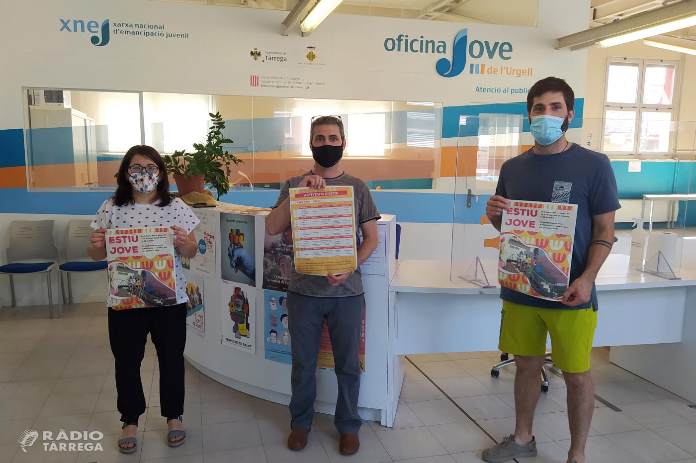 Lleure Quàlia i l'Ajuntament de Tàrrega presenten l'oferta d'activitats juvenils per aquest estiu