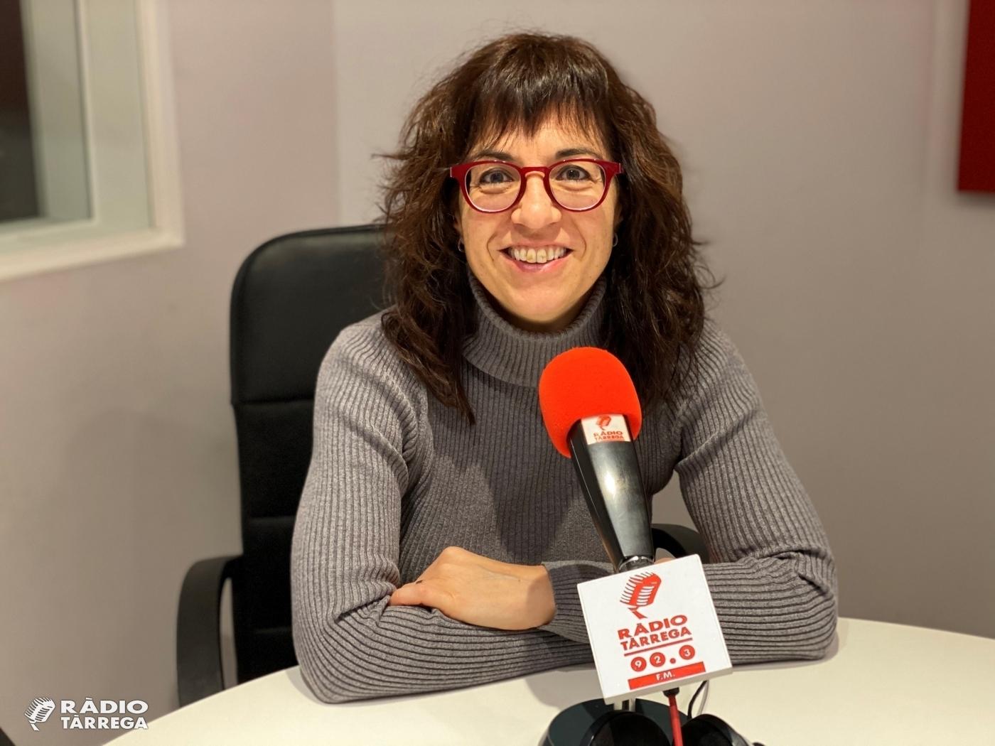L'alcaldessa de Tàrrega Alba Pijuan Vallverdú mostra voluntat de continuar optant a governar Tàrrega en les eleccions del 2023