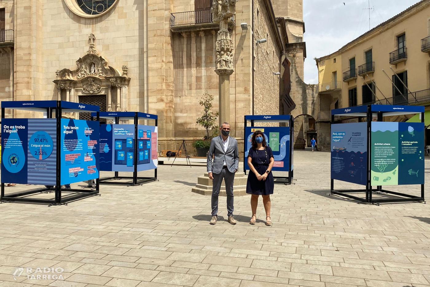 Tàrrega acull l'exposició 'Operació Aigua' per  reflexionar sobre els usos de l'aigua al món actual