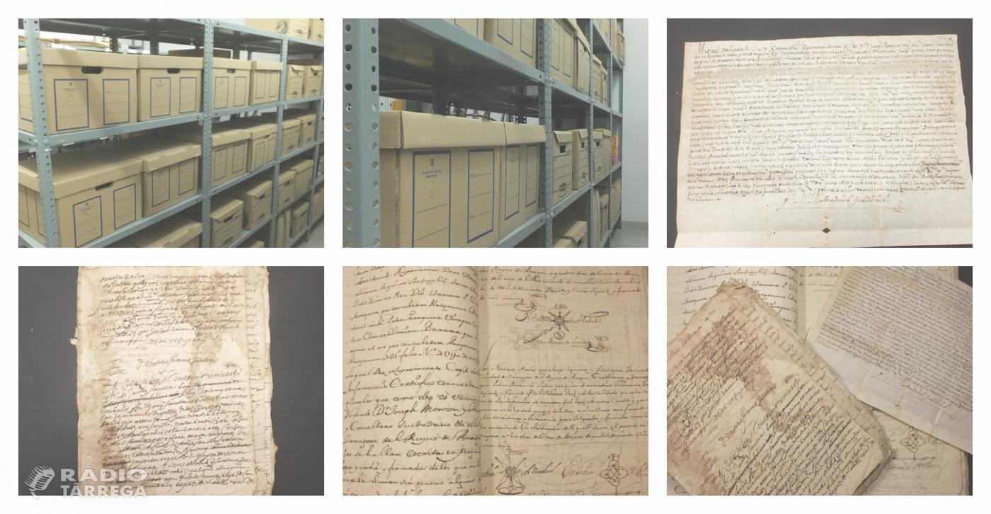 L'Arxiu Comarcal de l'Urgell ingressa el fons Josep Maria Benet de Cal Segarrenc de Mafet