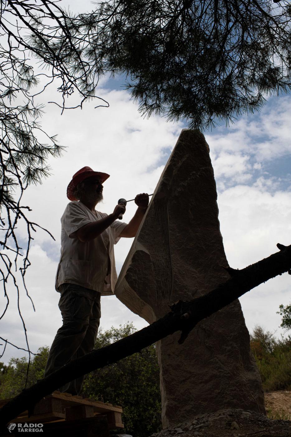 Maldà es converteix a partir d'avui en la capital catalana de l'escultura en pedra