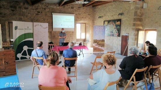 El projecte Ponent Actiu impulsa el patrimoni natural i cultural de la Vall de Corb