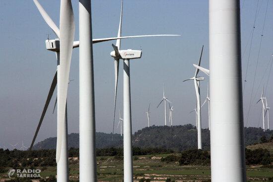 La CUP impulsarà la suspensió de llicències relatives a projectes de macrocentrals eòliques i solars a Ponent, Pirineus i Aran