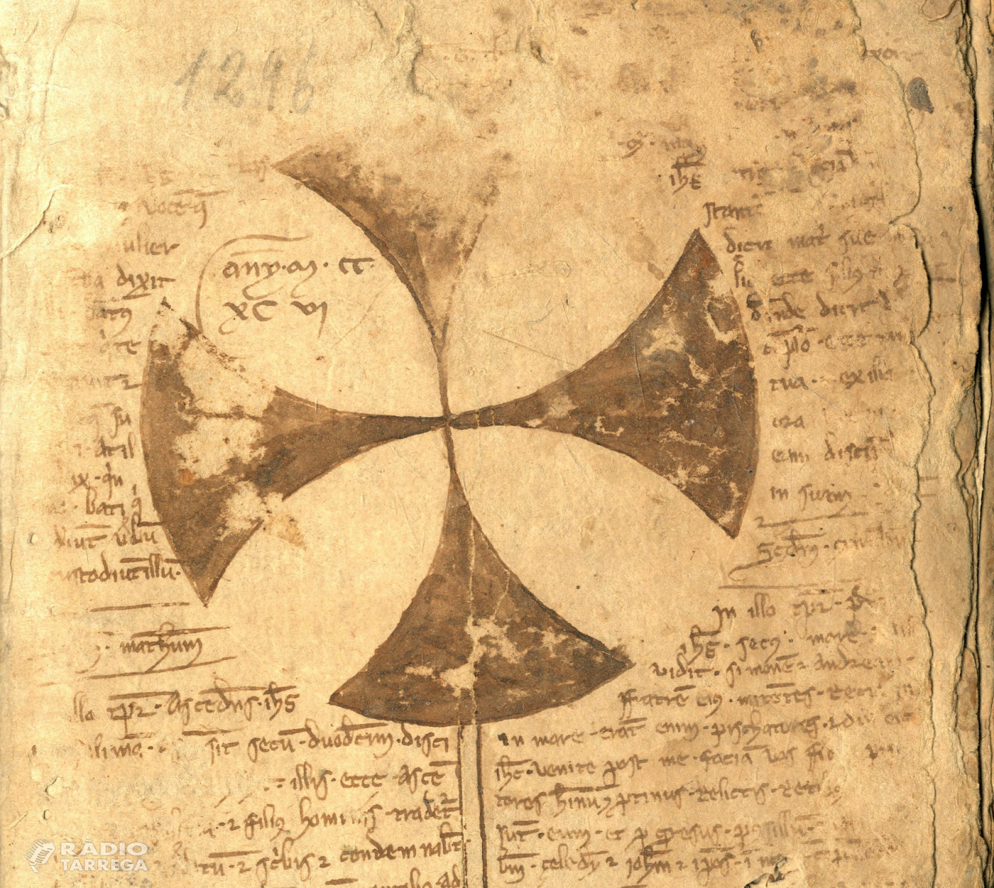 Els documents dels segles XIII al XV de la parròquia de Verdú online