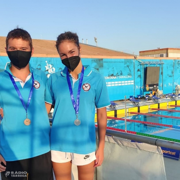Dues medalles per al Club Natació Tàrrega en la primera jornada del Campionat de Catalunya Infantil d'estiu