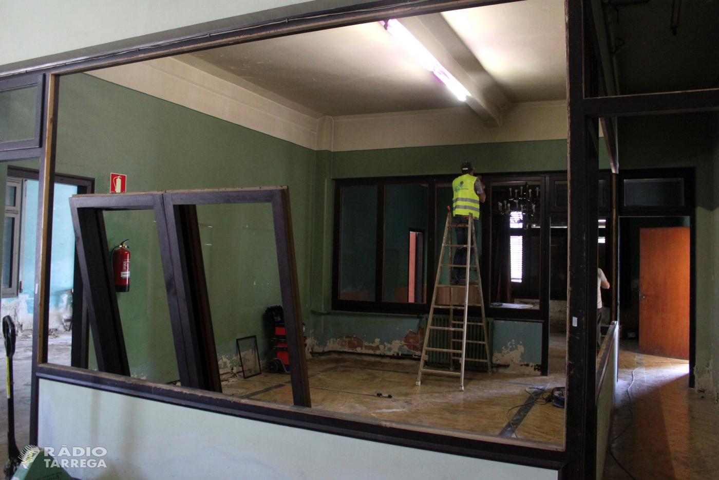 Comencen les obres de rehabilitació de l'antic edifici comercial i residencial de Cal Trepat de Tàrrega