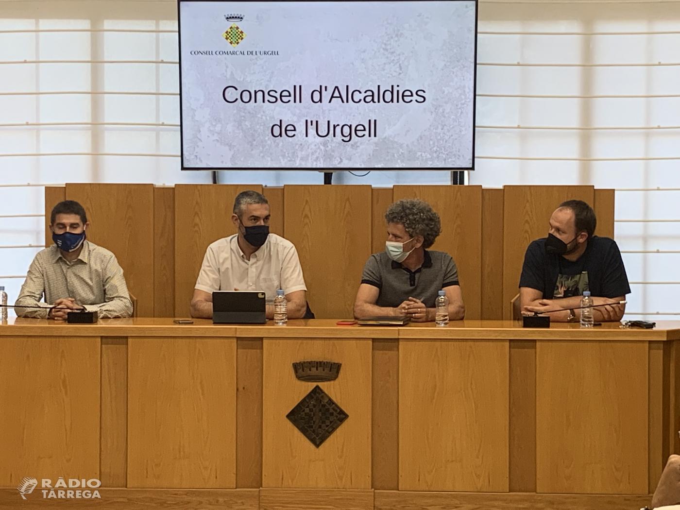 Óscar Martínez, alcalde de Ciutadilla, assumeix la presidència del Consell d'Alcaldes de l'Urgell