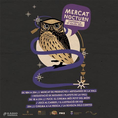 L'Associació Vall del Corb organitza un mercat nocturn a Ciutadilla el pròxim 17 de juliol