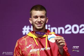 L'atleta de Tàrrega Arnau Monné torna del Campionat d'Europa Sub23 amb una medalla de plata en relleus 4x100 i una de bronze en 100 metres