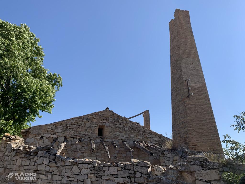 La Diputació de Lleida inicia les actuacions de consolidació i adequació del molí fariner del Valls al municipi de Ciutadilla