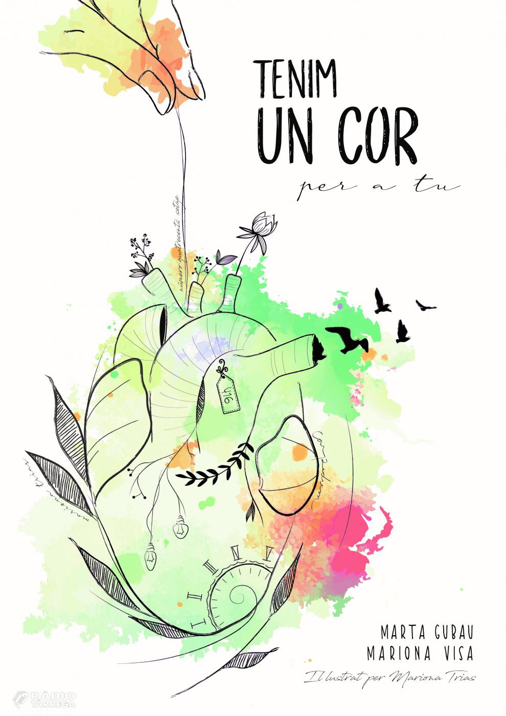 Marta Gubau presenta aquest cap de setmana a Preixana el seu llibre 'Tenim un cor per a tu', on narra en primera persona l'experiència de sobreviure gràcies a un trasplantament de cor