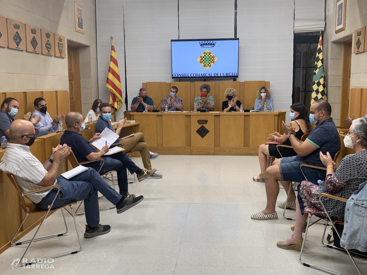 El Plenari del Consell Comarcal de l'Urgell es reuneix de forma presencial després d'un any de sessions telemàtiques