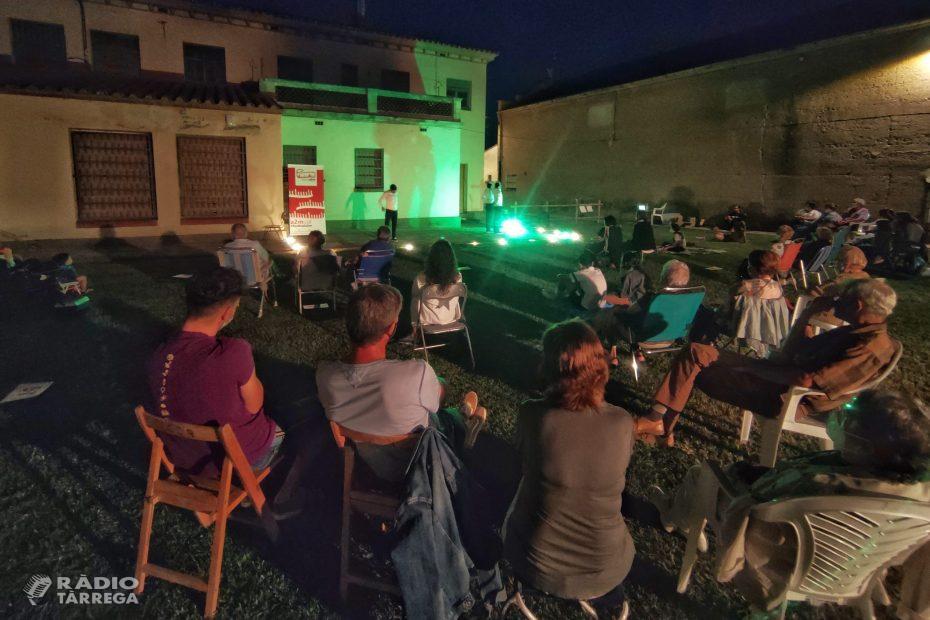 Segona representació del Festival a2m amb teatre gestual a la Guàrdia d'Urgell