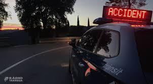 Mor la passatgera davantera d'un cotxe accidentat amb un camió a Vallfogona de Balaguer el 8 de juliol