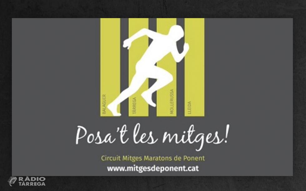 La Mitja Marató de Ponent se celebrarà a Tàrrega el 10 d'octubre