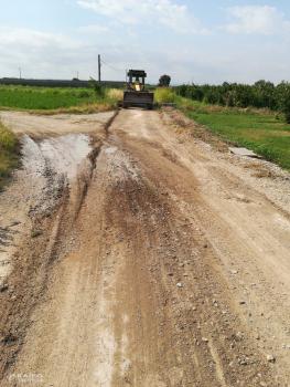Comencen les obres d'arranjament de camins a Bellpuig
