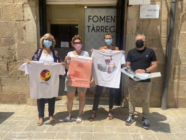 """Foment Tàrrega i Fira Tàrrega uneixen esforços en la campanya """"Ruta dels 40"""""""