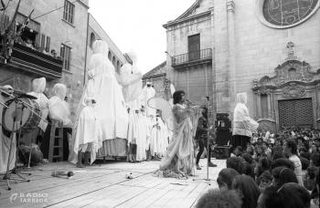 FiraTàrrega commemora el seu 40 aniversari amb una peça audiovisual projectada a un espai emblemàtic de la ciutat