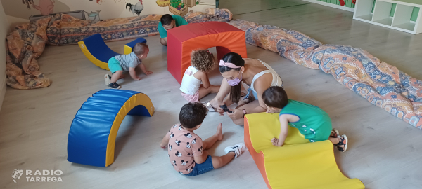 Agramunt ofereix un servei de casal d'estiu per a nens de 0 a 3 anys a l'agost