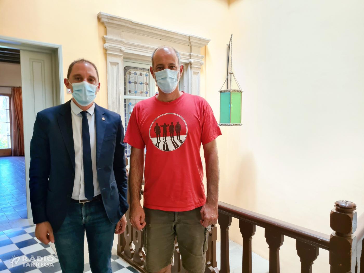 El subdelegat del Govern a Lleida, José Crespín, visita Tornabous