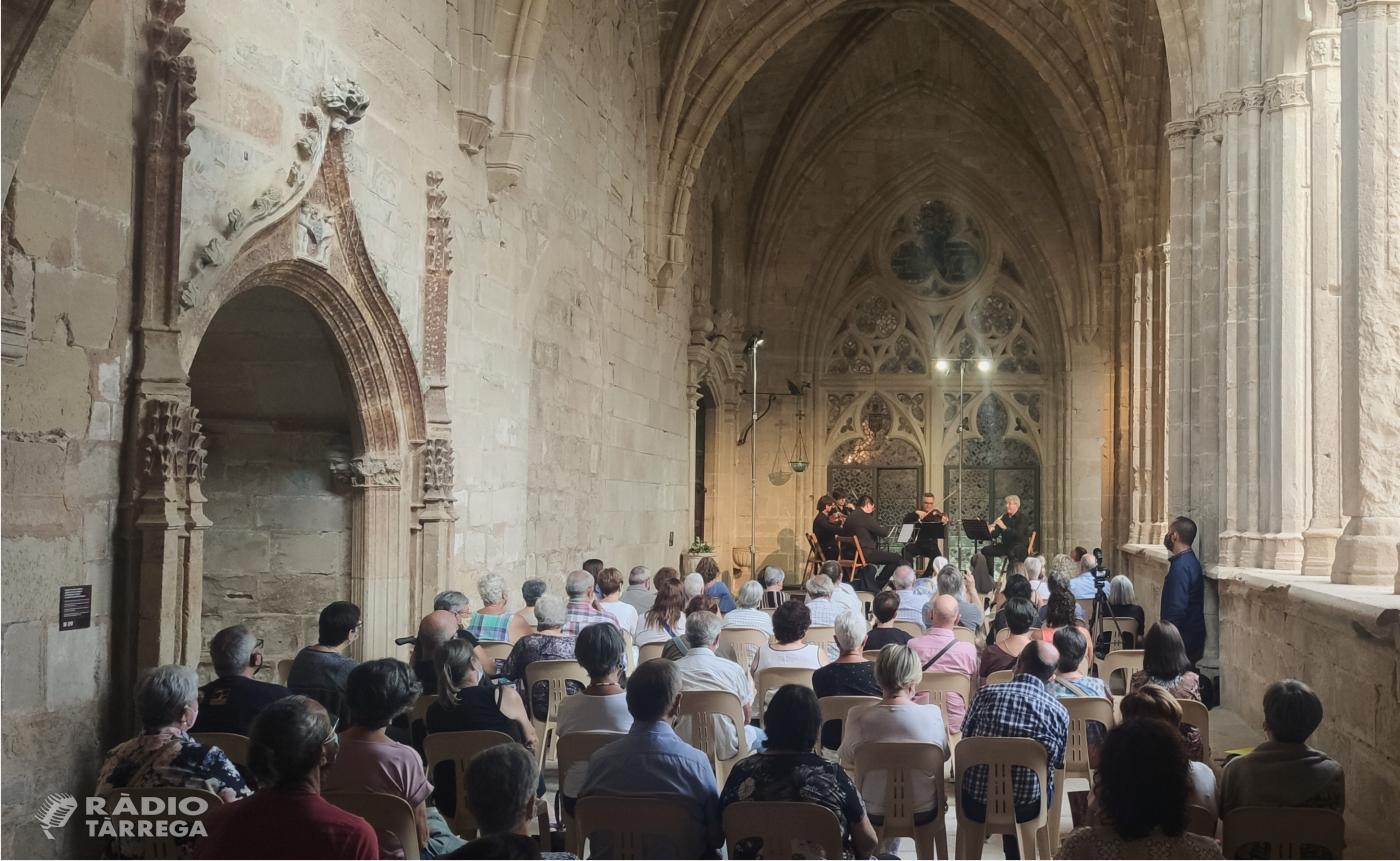 El Quartet Teixidor obre la sisena edició del Festival 'La Pedra Parla' amb un quintet per a cordes i clarinet de Mozart