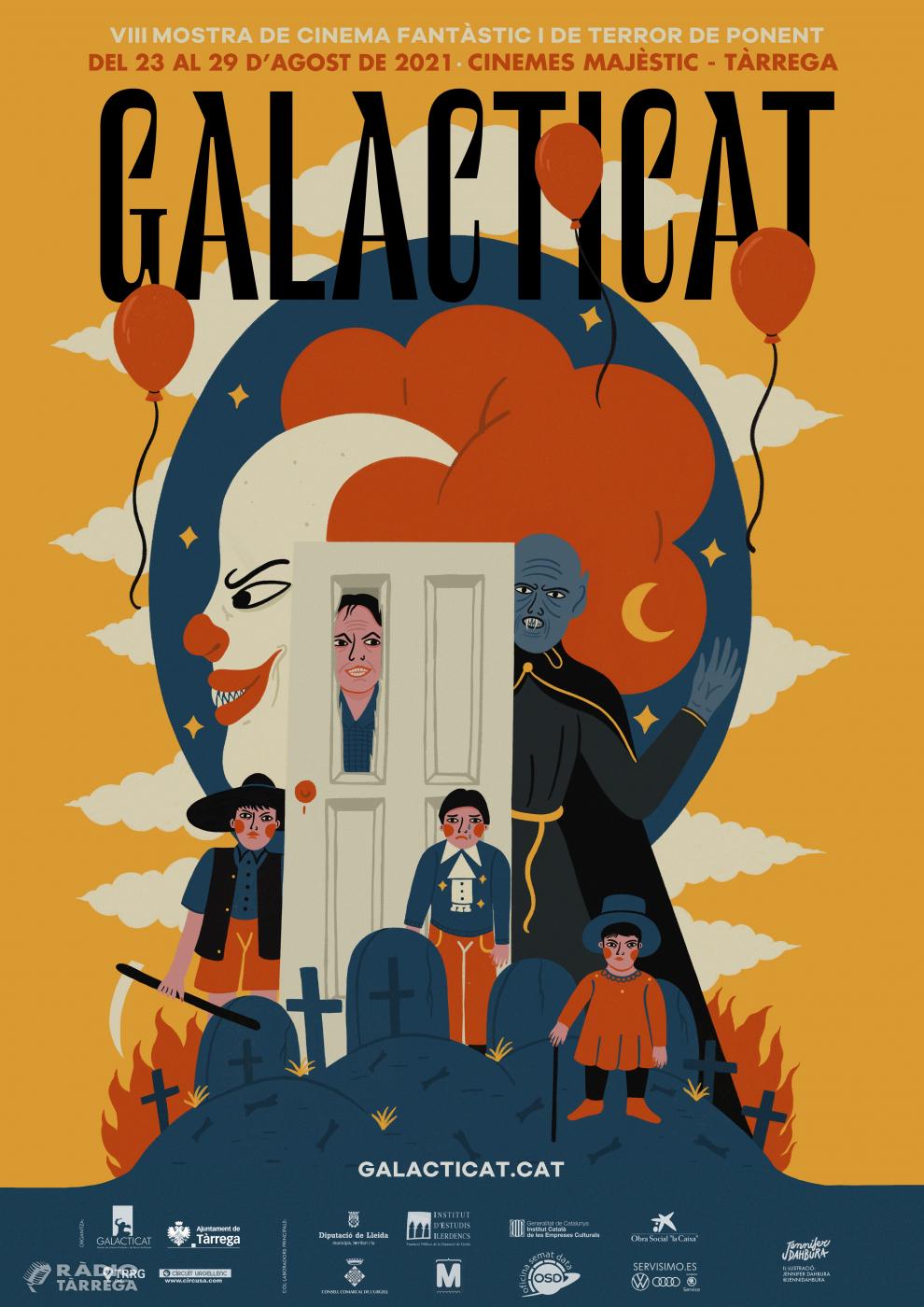 Surten a la venda les entrades per al Festival Galacticat, mostra de cinera fantàstic i de terror de Ponent