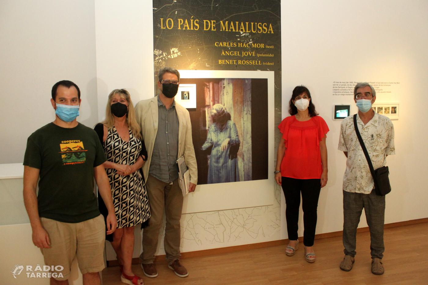 La Sala Marsà de Tàrrega exhibeix un treball conjunt dels artistes lleidatans Carles Hac Mor, Àngel Jové i Benet Rossell