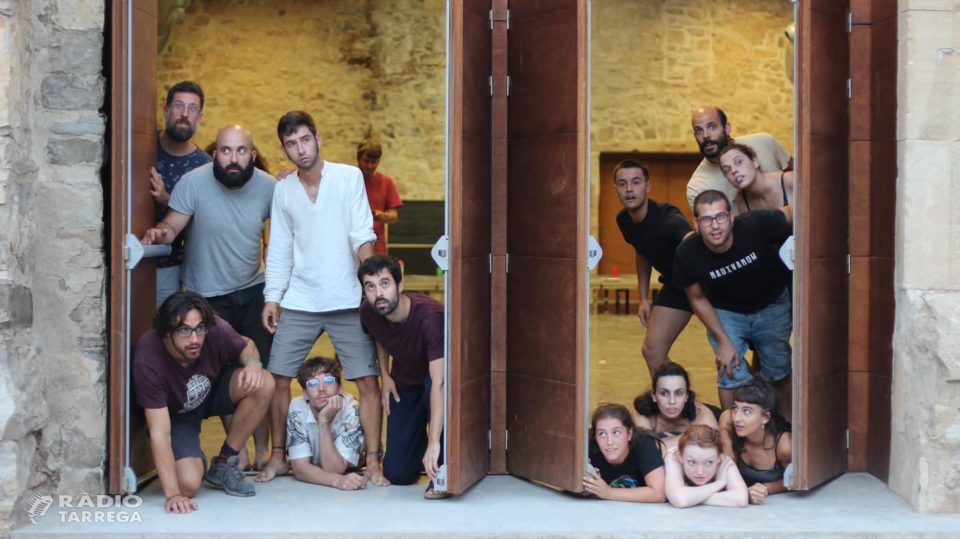 Èxit de la primera edició d'SPASA, un curs intensiu d'arts de carrer internacional que es celebra entre Tàrrega i Cervera