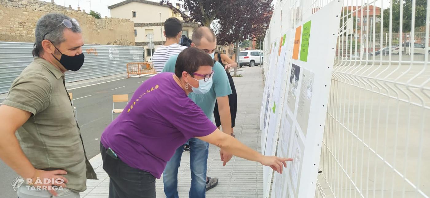 Es presenta el projecte de renaturalització del pati de l'Escola Maria Mercè Marçal de Tàrrega