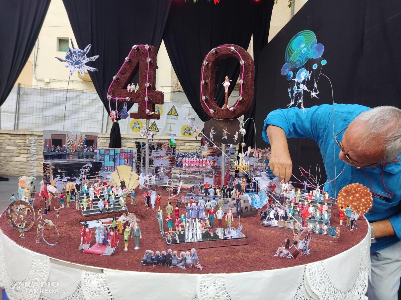 FiraTàrrega celebra els seus 40 anys amb un recorregut històric i afectiu amb pastís d'aniversari inclòs