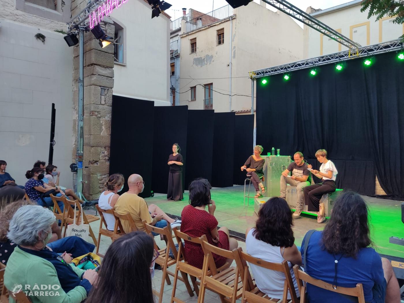 El nou espai La Paraula de FiraTàrrega interpel·la el públic a través de la música, la poesia i la conversa