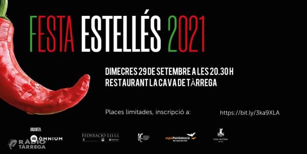 Òmnium Cultural Segarra-Urgell celebrarà el dimecres 29 de setembre la Festa Estellés 2021 d'homenatge al poeta valencià