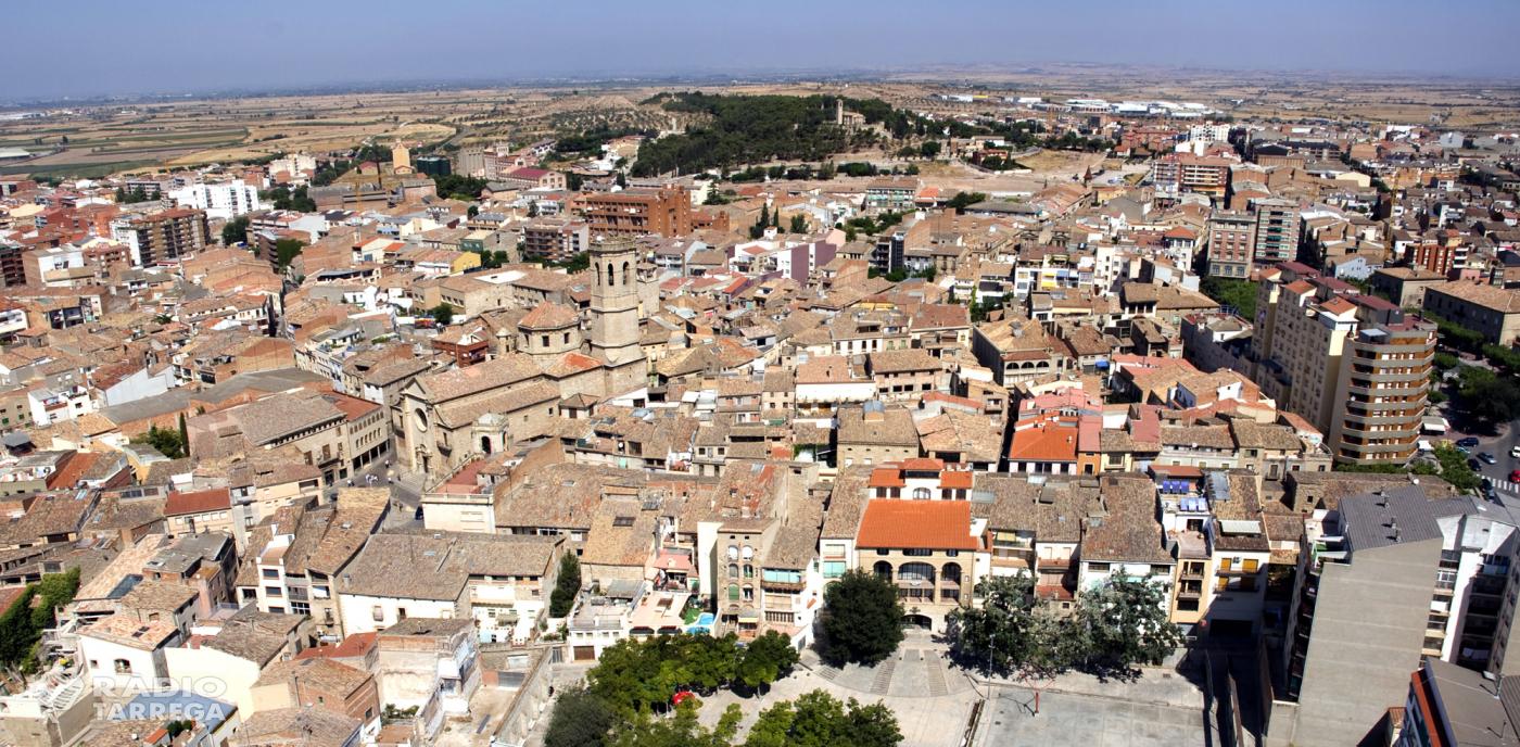 El ple de Tàrrega  debatrà avui l'aprovació d'una partida de 150.000 euros per pavimentar carrers i voreres