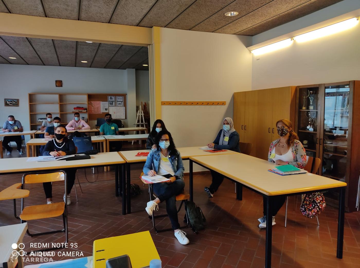 L'Aula de Llengua de Tàrrega dona el tret de sortida a l'inici de curs amb un total de 52 alumnes inscrits