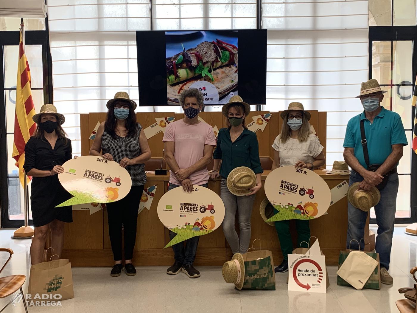 L'Urgell participa al  'Benvinguts a Pagès La Festa' amb una desena d'establiments