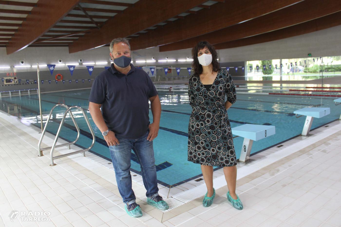 Tàrrega reobre la piscina coberta municipal amb elevada afluència d'usuaris