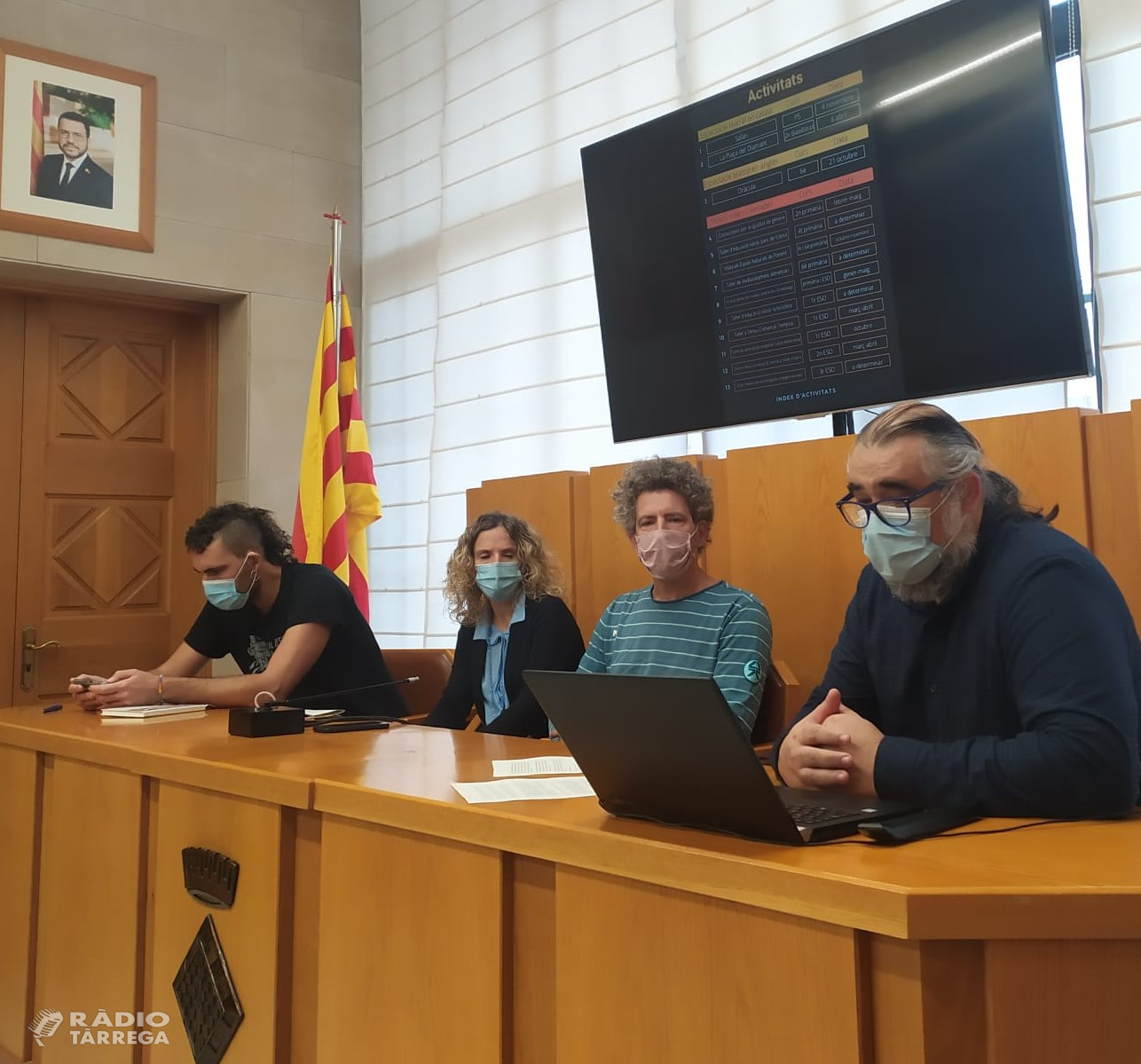 El Consell Comarcal de l' Urgell desplegarà aquest curs escolar 2021 2022  un total de 25 accions en el marc del XXI Programa Comarcal de Suport a l' Educació a l' Urgell