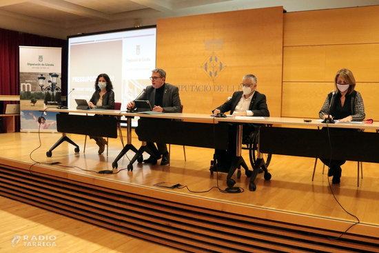 La Diputació de Lleida aprova la resolució del pla de suport a inversions per als ajuntaments dotat amb 19 MEUR