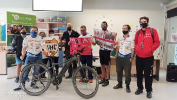 El Club Ciclista Alba de Tàrrega desitja sort al ciclista targarí Jaume Rovira