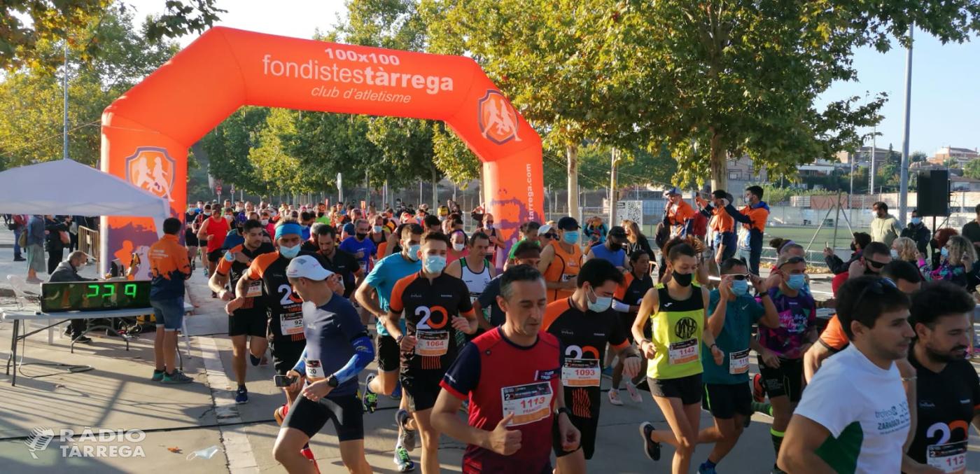 Retorn amb èxit de participació de la 20a Mitja Marató i 10km Ciutat de Tàrrega