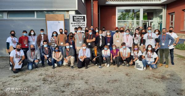 En marxa del'EDhackTàrrega, un innovador projecte de participació ciutadana que aplega una quarantena d'assistents