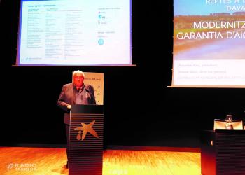El Canal d'Urgell presenta el seu pla de modernització al IV Congrés de l'Aigua i reclama que s'aposti per 'un projecte estratègic'