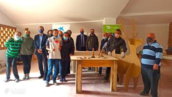 La Fundació 'la Caixa' i CaixaBank col·laboren amb el projecte de fusteria de Cal Carreter a Agramunt del Grup Alba