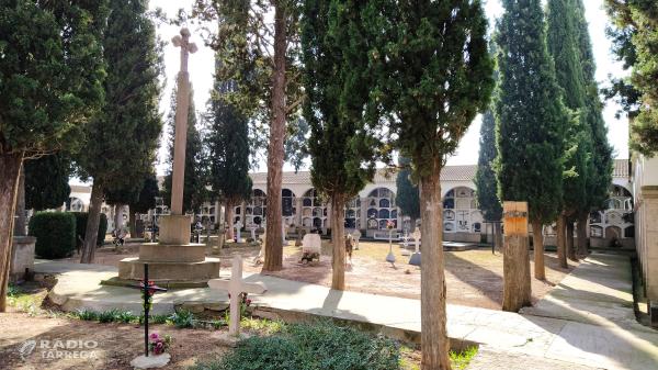 L'Ajuntament d'Agramunt habilita al cementiri un nou espai de record al dol perinatal