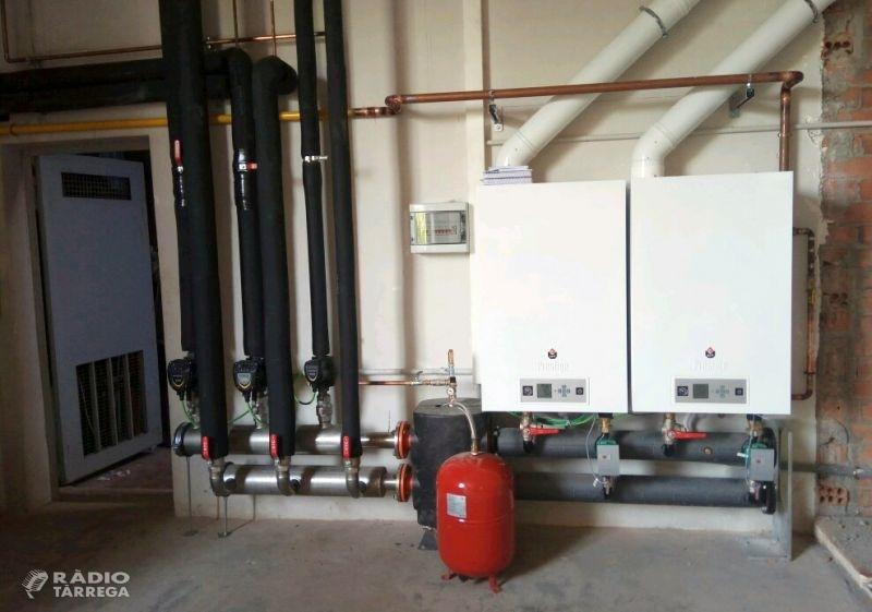L'Ajuntament de Tàrrega millora l'eficiència energètica al Pavelló Municipal d'Esports, edifici que reduirà un 60% el consum de gas